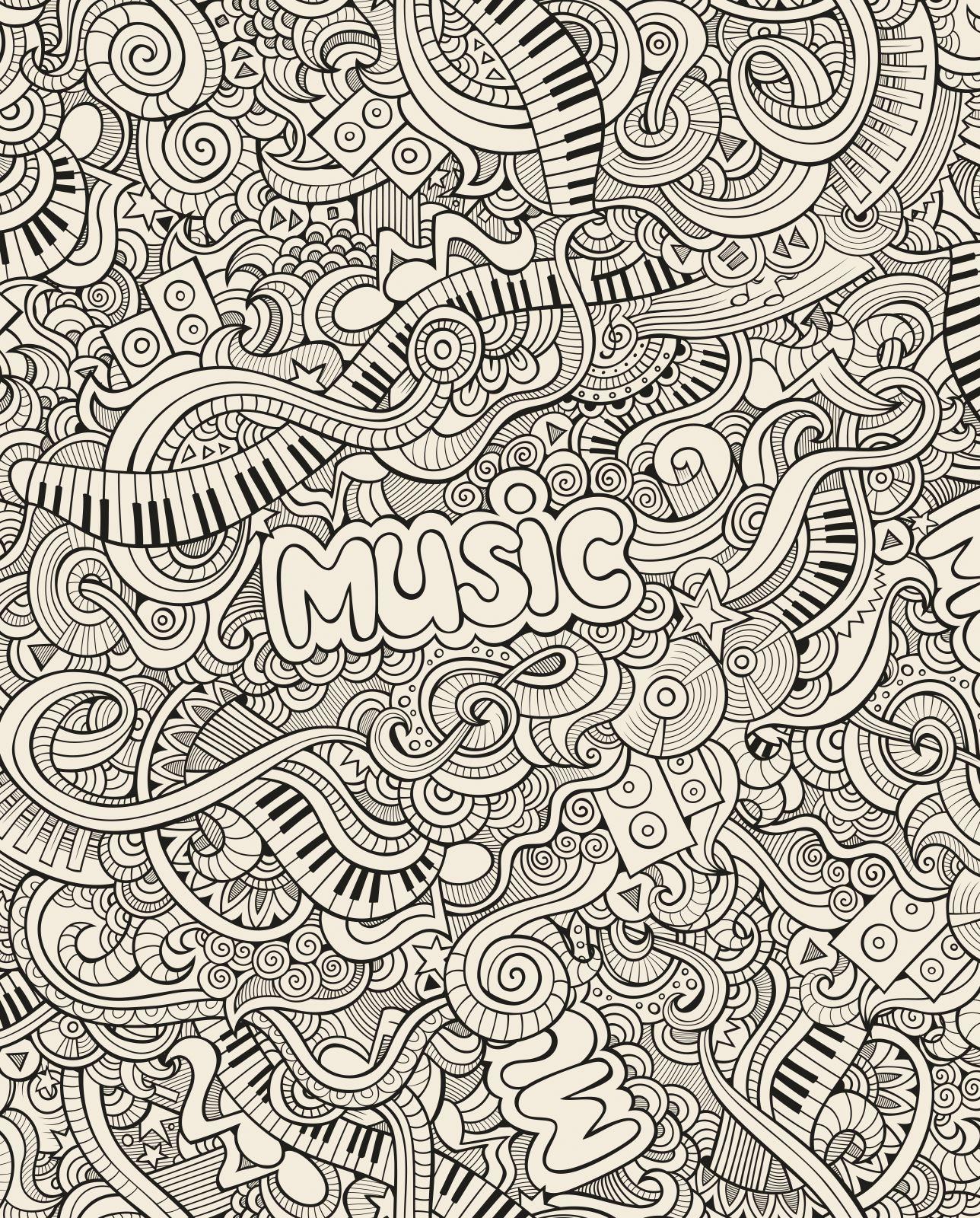 Toute Taille cuisine Splashback en verre trempé piano graphique musique piano trempé doddle 29778866 47343d